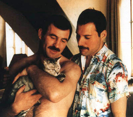 jim hutton y freddie mercury