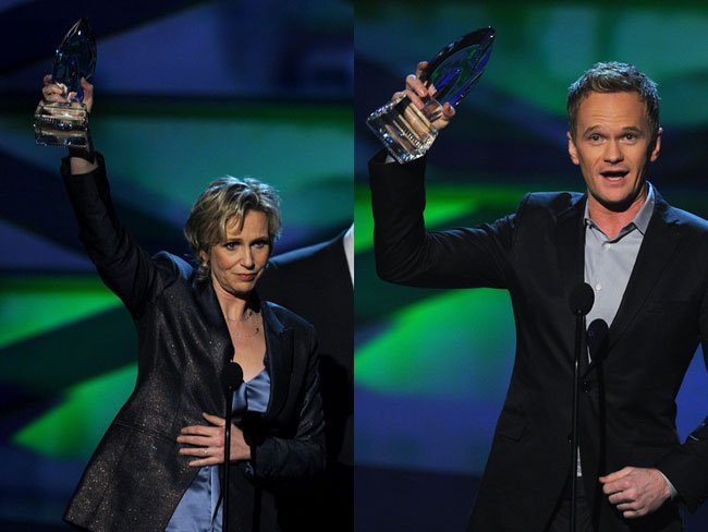 Jane Lynch y Neil Patrick Harris