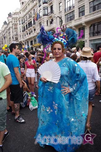 ¿Cuál es tu travesti favorito del Desfile del Orgullo Gay de Madrid 2011?