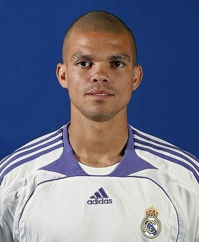 Pepe, central del Real Madrid