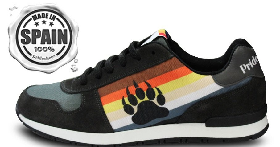 Pride Shoes Bear