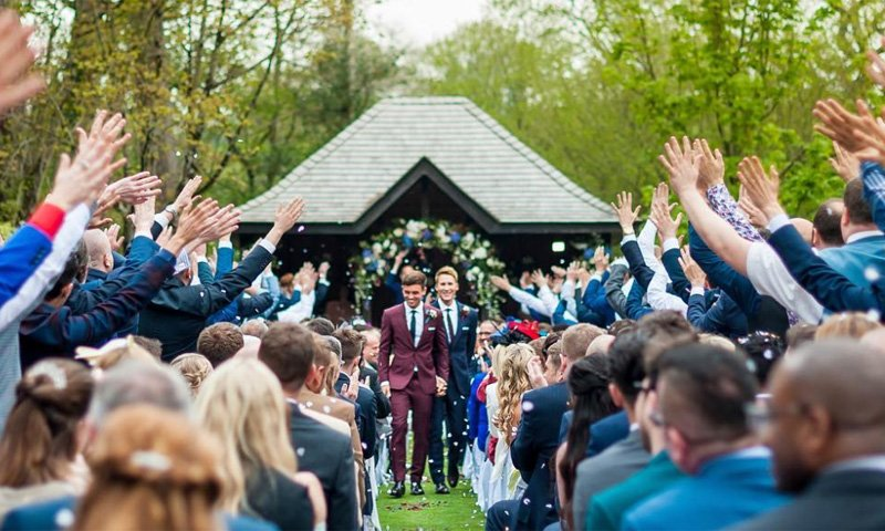 Boda Tom Daley y Dustin Lance Black